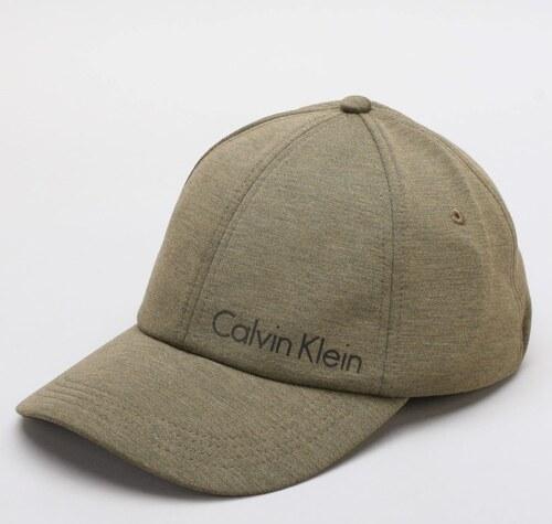 1c9d4f0c3e4 Calvin Klein khaki kšiltovka Space Cap - Glami.cz