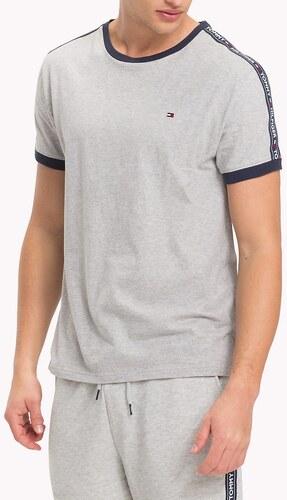 6cd8f800b7 Tommy Hilfiger sivé pánske tričko RN Tee SS - Glami.sk