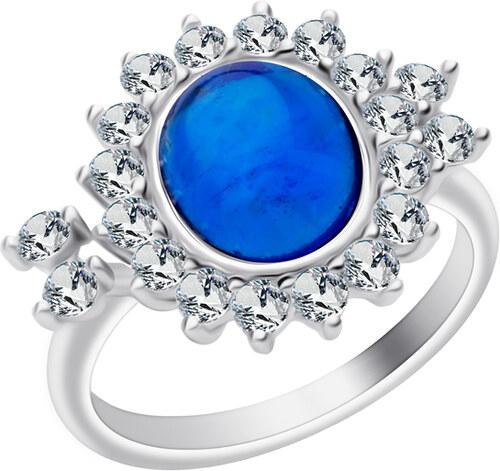 Preciosa strieborný prsteň Camellia f804dceceed