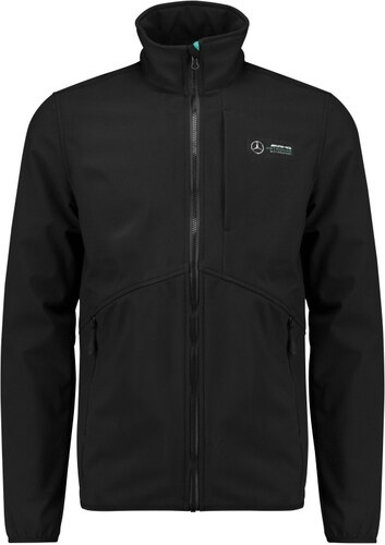 Branded 2018, Fekete, XS, Mercedes Logo Softshell Kabát