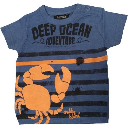 Blue Seven Chlapecké tričko s krabem - modré - Glami.cz 0c136536fb