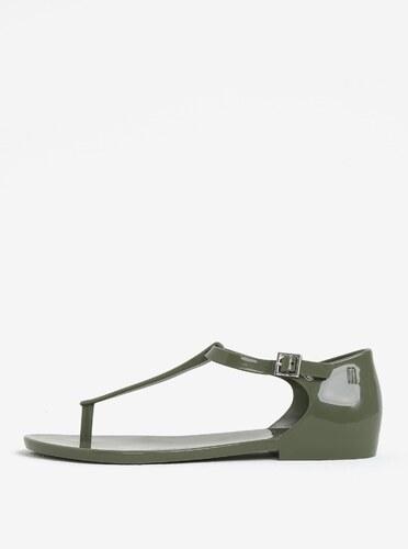 2e904eb98d Kaki sandále s prackou Melissa Honey - Glami.sk