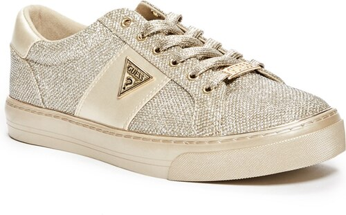 ff207b79fbbb Tenisky GUESS Gabey Low-Top Sneakers zlatá 40 - Glami.cz