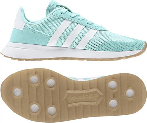 Dámske tenisky adidas Originals FLB RUNNER W (Svetlo modrá   Biela ... 633a5514eb6