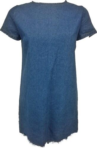 d61f728e1 DENIM CO. dámské riflové modré šaty - Glami.sk