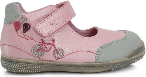 adad6c1f3fc4e Ponte 20 Dievčenské kožené balerínky - ružové - Glami.sk