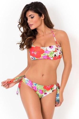 24a965d0d Dámske dvojdielne plavky David Mare Playa 015 s kosticami farebná ...