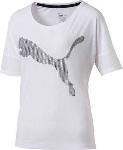 Dámské Tričko Puma Loose Tee White White - Glami.cz bd93d56f1c3