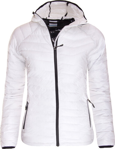 Zimní bunda dámská Columbia Powder Lite Hooded Jacket White 0ce8338c39