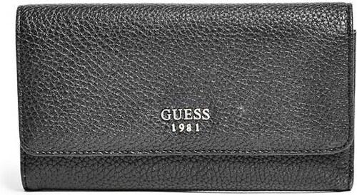 GUESS peňaženka Cate Pebbled čierna. - Glami.sk c5e2463071a