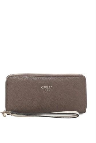 GUESS peňaženka Cate Zip-around hnedá. - Glami.sk d3304de6f7a