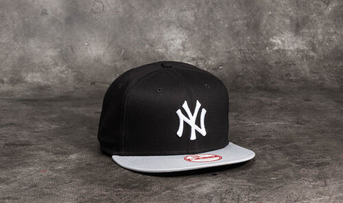 release date 0cf9f d97dc New Era 9Fifty MLB Cotton Block New York Yankees Cap Black  Grey  White