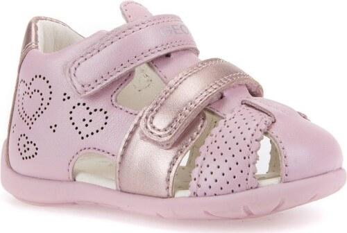 99cfc3ddcbac Geox Dievčenské sandále Kaytan - ružové - Glami.sk