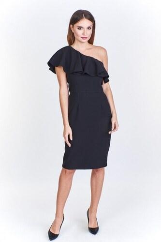 Ptakmoda Koktejlové černé šaty - Glami.cz 943d3fa500