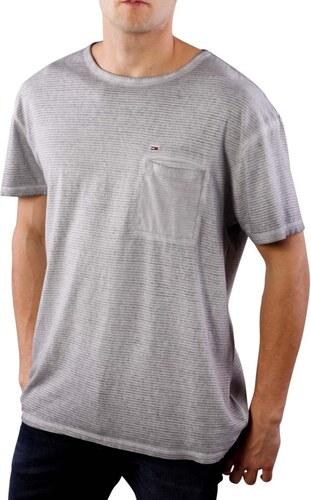 Tommy Hilfiger pánské šedé tričko - Glami.sk e73380dfdaf
