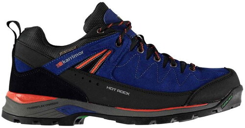 Karrimor Hot Rock Low pánské Walking Shoes Blue Orange - Glami.sk 40116d1b6ce
