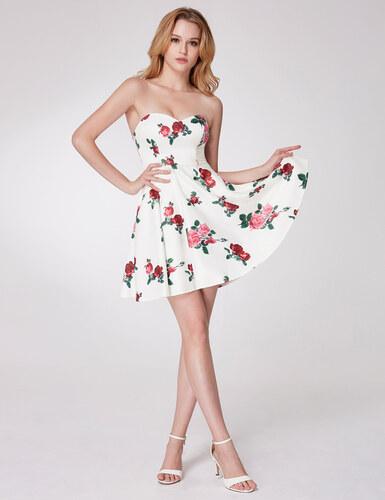 Ever Pretty krásné letní šaty bez ramínek 5953 - Glami.cz 7e07001cab
