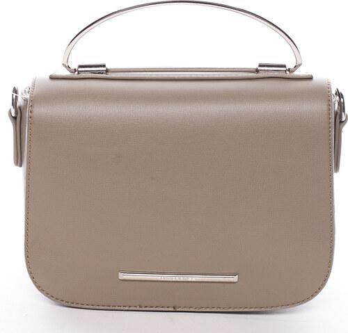 Malá luxusná khaki kabelka do ruky - David Jones Layna Khaki - Glami.sk b190445583a