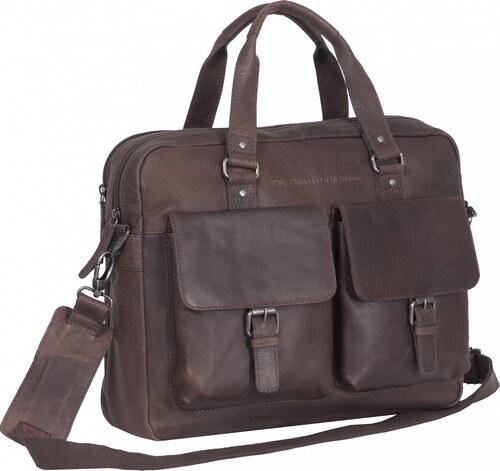 The Chesterfield Brand Kožená pracovní taška C48.077801 George hnědá ... 4e37b1d6fc2