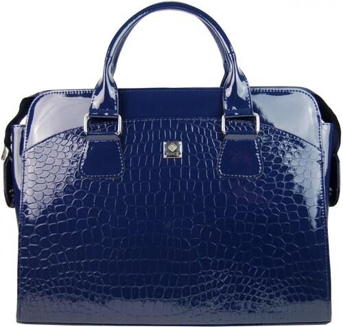 f5f9067a81 PUNCE LC-01 modrá dámska kabelka pre notebook do 15.6 palca - Glami.sk