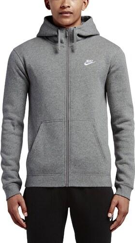 87e2367ca08b Mikina s kapucňou Nike M NSW HOODIE FZ FLC CLUB 804389-063 - Glami.sk