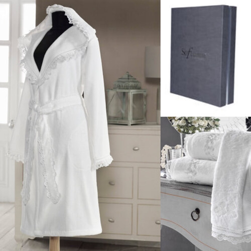 Soft Cotton LUNA fürdőköpeny + törölköző + fürdőlepedő + box - Glami.hu 8b68c0e36d