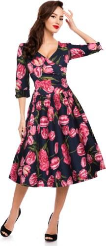 Dolly and Dotty retro šaty Katherine s tulipány - Glami.cz 4658f0dd56