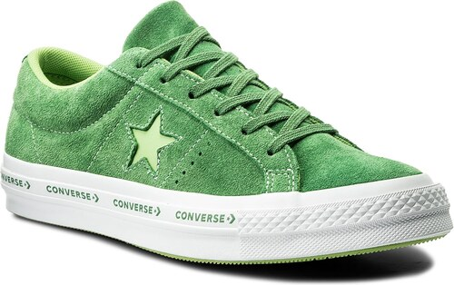 Tenisky CONVERSE - One Star Ox 159816C Mint Green Jade Lime White ... 06fbae217db