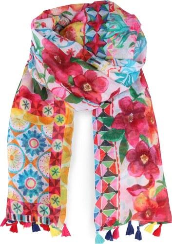 Desigual Dámský obdélníkový šátek Foulard Little 18SAWW60 - Glami.cz b3baa45819