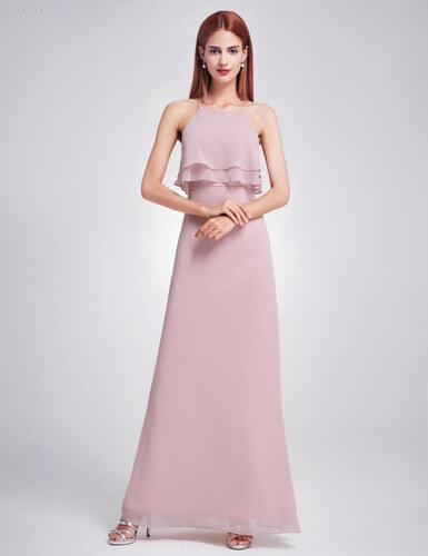 Růžové šaty Ever Pretty 7137 - Glami.cz b681d9ee14