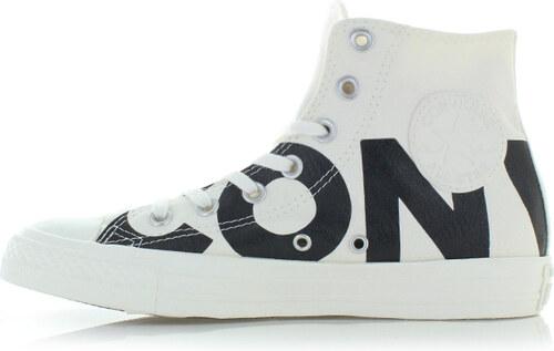 Converse Fehér-fekete női magasszárú tornacipő Chuck Taylor All Star  Wordmark 79bf2c7bd0