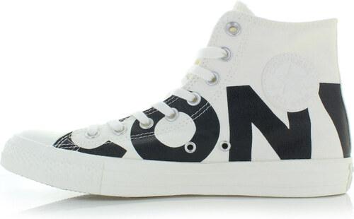44f4761aff4 Converse Pánské bílo-černé vysoké tenisky Chuck Taylor All Star Wordmark
