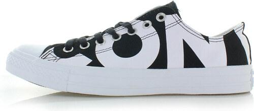 -14% Converse Fekete-fehér női alacsony szárú tornacipő Chuck Taylor All  Star Wordmark 101c56a8f9