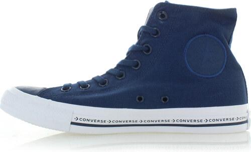 2ee9082c7bb Converse Pánské tmavě modré vysoké tenisky Chuck Taylor All Star Pinstripe