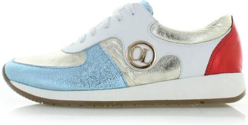 fb3f877d048 Olivia Shoes Viacfarebné kožené tenisky Elsie - Glami.sk