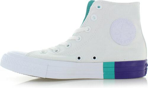 -14% Converse Fehér női magasszárú tornacipő Chuck Taylor All Star  Tri-Block Midsole 41575018b2