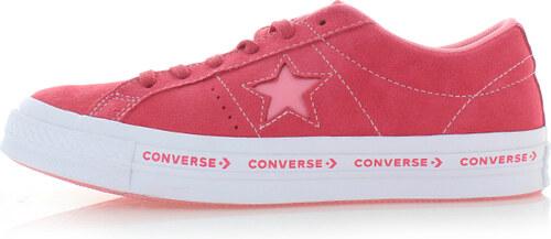 Converse Dámske červené kožené tenisky One Star Pinstripe - Glami.sk 72317e4085b