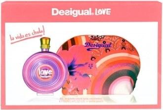 Desigual Love dárková kazeta pro ženy toaletní voda 100 ml + toaletní taška 12c0df560e1