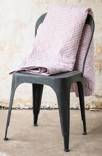 IB LAURSEN Prošívaný přehoz Light pink stripes 130x180 - Glami.cz 753df5104b