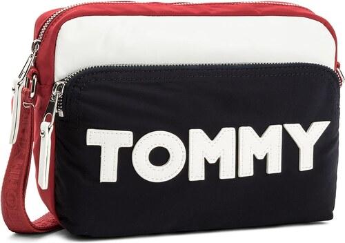 Válltáska TOMMY HILFIGER - Tommy Nylon Crossover AW0AW04951 901 ... 37a8497c98