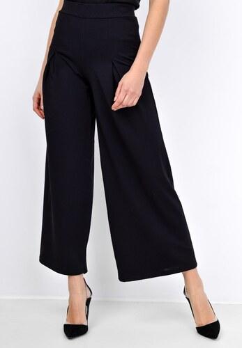 BASIC Černé kalhoty s širokými nohavicemi - 2935 - Glami.cz a25d81d37b