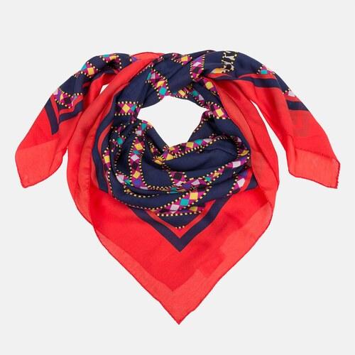1dbafdb9750 Vivienne Westwood Elegantní dámský šátek Vivienne Weswood barevný ...