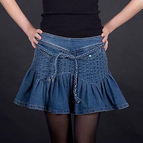 Armani Jeans Džínová sukně Armani modrá XS - Glami.cz 9dd801c133