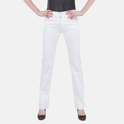 Dámské bílé luxusní džíny Armani Jeans 26 - Glami.cz d419a42079