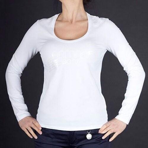 Armani Jeans Značkové dámské tričko s dlouhým rukávem Armani L ... 04f7668ae5