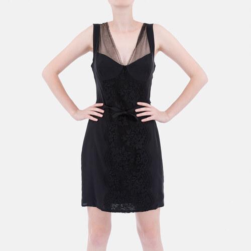 Dolce Gabbana Luxusní koktejlové šaty D G černé 40 - Glami.cz a1c9879a385