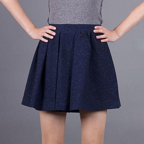 Tmavě modrá sukně Armani Jeans S - Glami.cz f4f0df1851