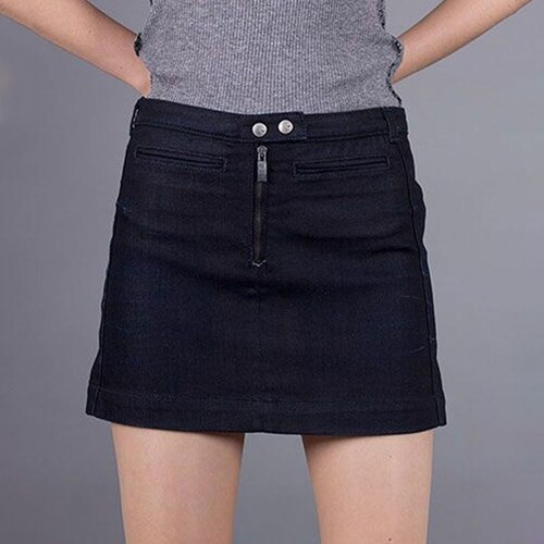 Armani Jeans Džínová tmavě modrá sukně Armani S - Glami.cz 0c3670356f