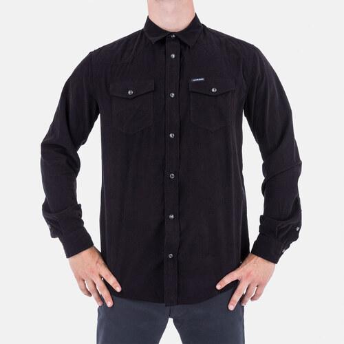 0a86916127a Armani Jeans Manchesterová pánská košile Armani L - Glami.cz