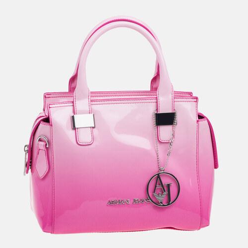Dámská růžová kabelka Armani Jeans - Glami.sk bf185e263cf